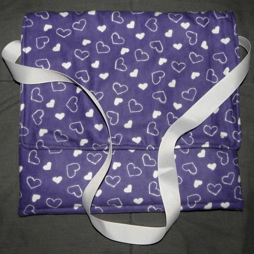 Carry Bag - Purple Hearts