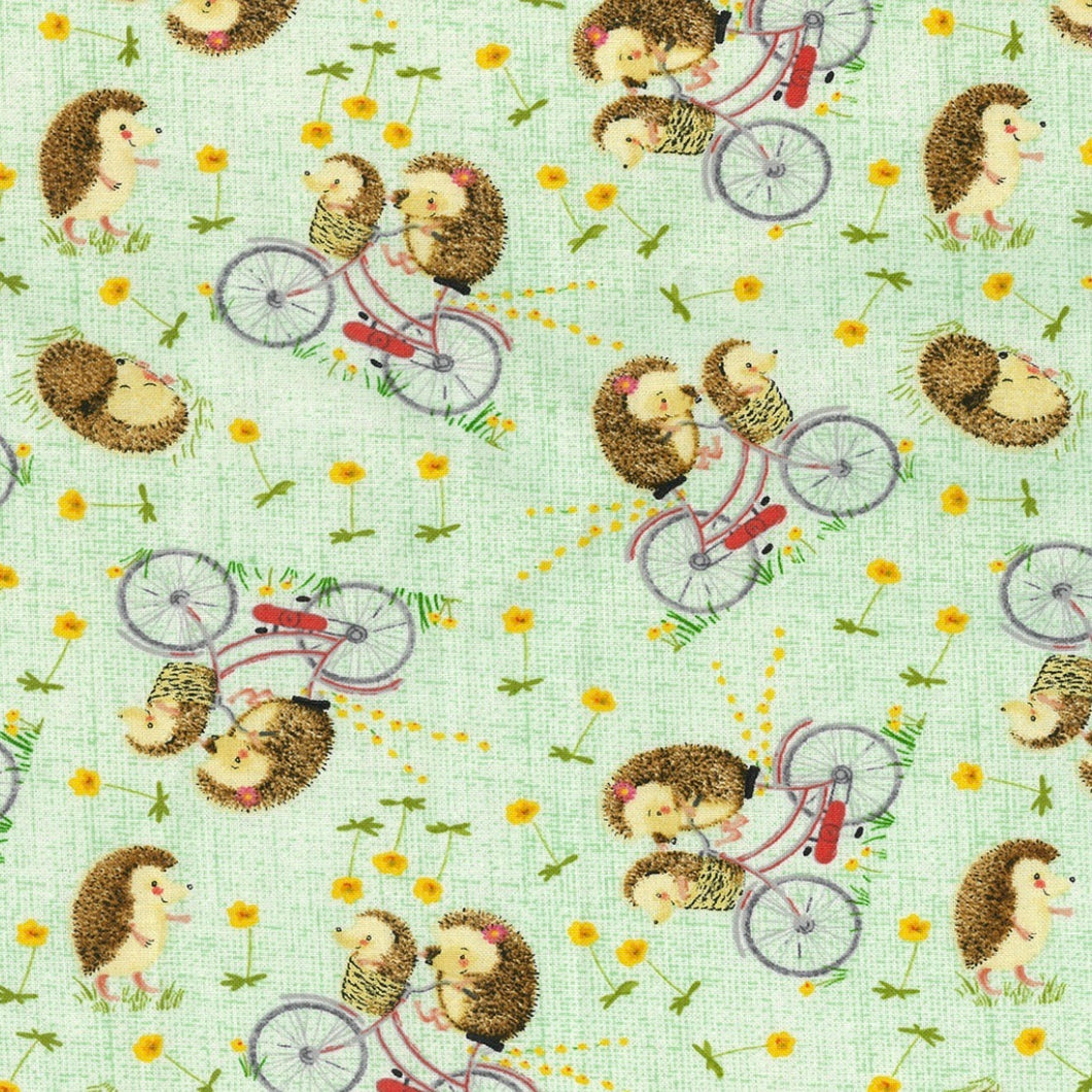 Sleeping Bag - Bicycle Hedgehogs