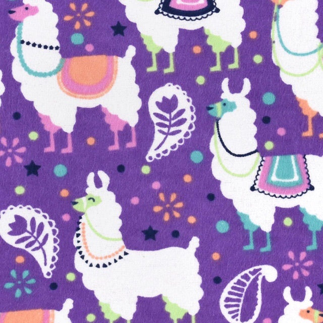 Sleeping Bag - Festive Llamas