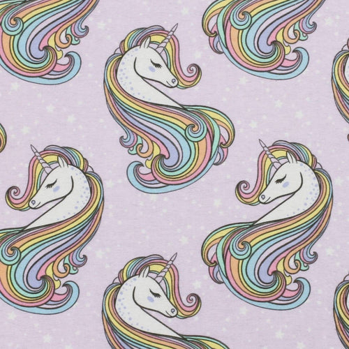 Sleeping Bag - Pastel Rainbow Unicorns