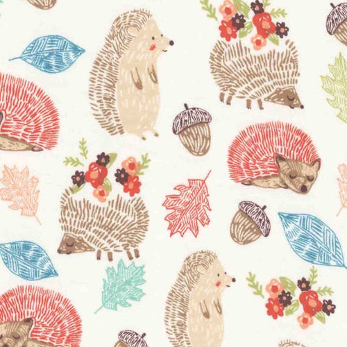 Sleeping Bag - Autumn Nap Hedgehogs