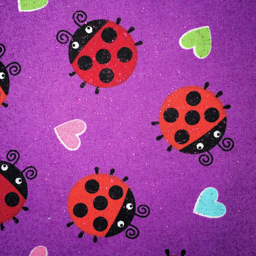 Sleeping Bag - Ladybug Hearts (Sparkles)