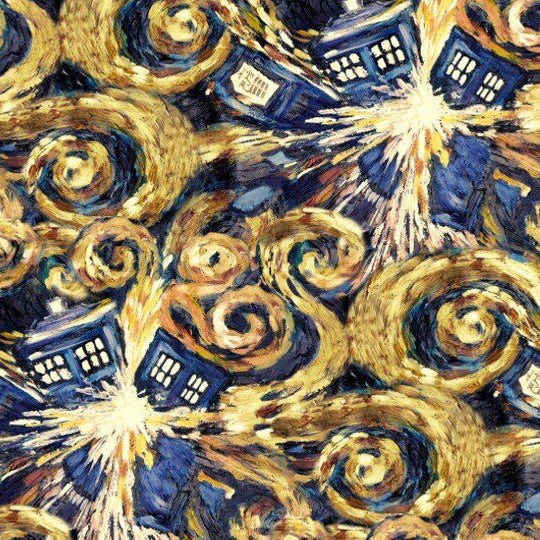 Sleeping Bag - Doctor Who Exploding Tardis