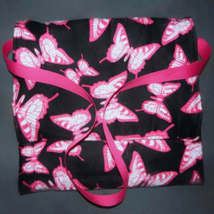 Carry Bag - Pink Butterflies
