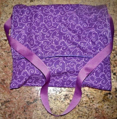 Carry Bag - Purple Vines