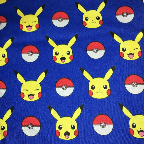 Sleeping Bag - Pikachu Pokeballs