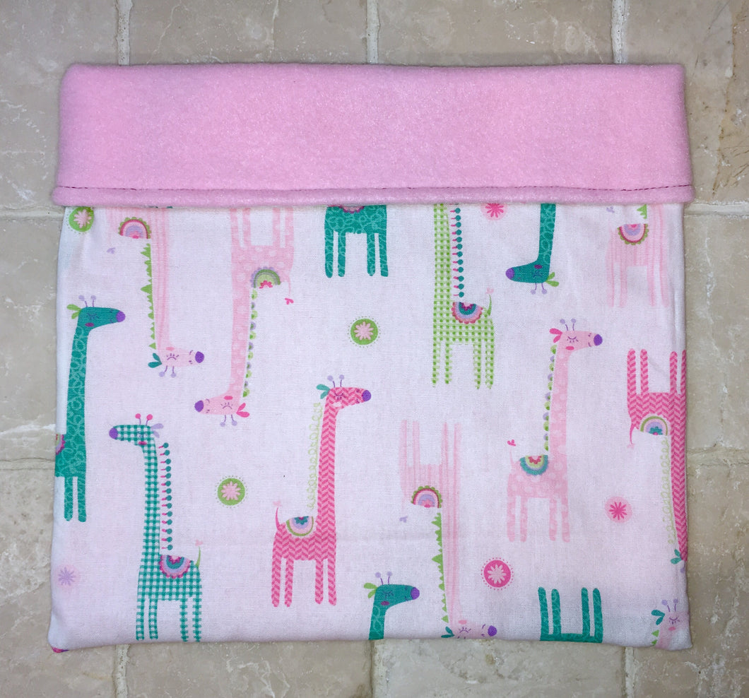 Sleeping Bag - Pastel Giraffes