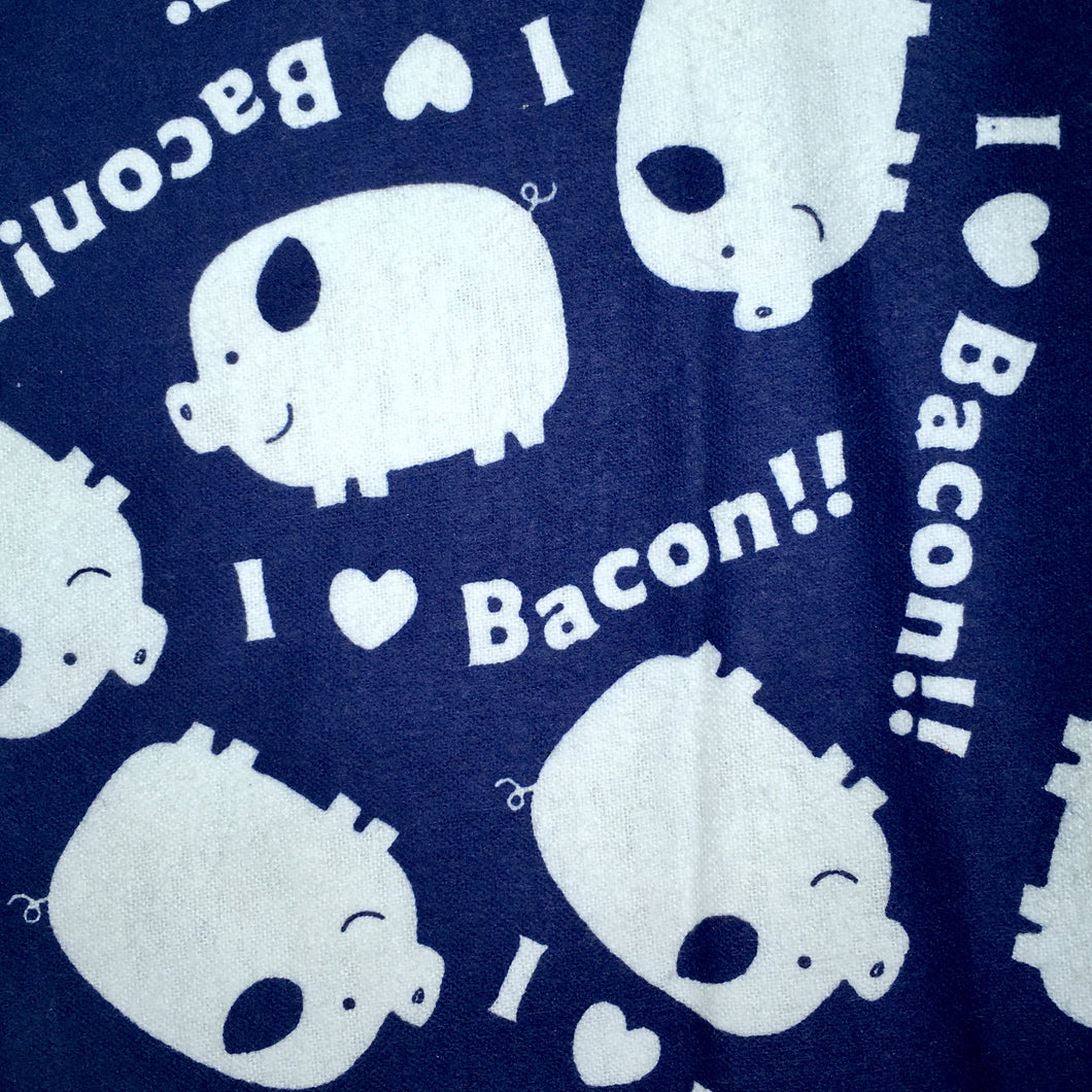 Sleeping Bag - I Heart Bacon