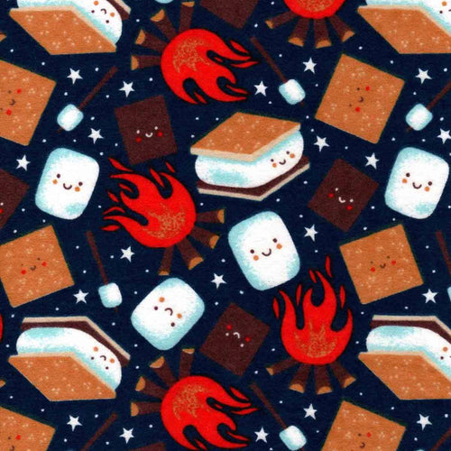 Sleeping Bag - Cute S'mores