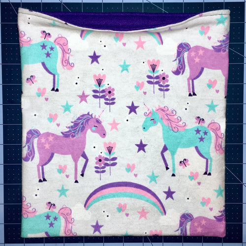 Sleeping Bag - Unicorn Stars