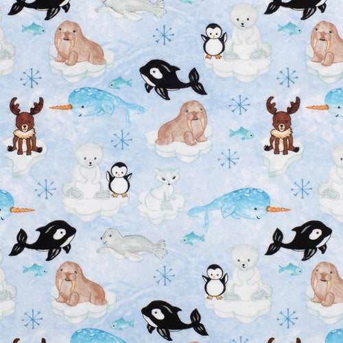 Sleeping Bag - Arctic Animals