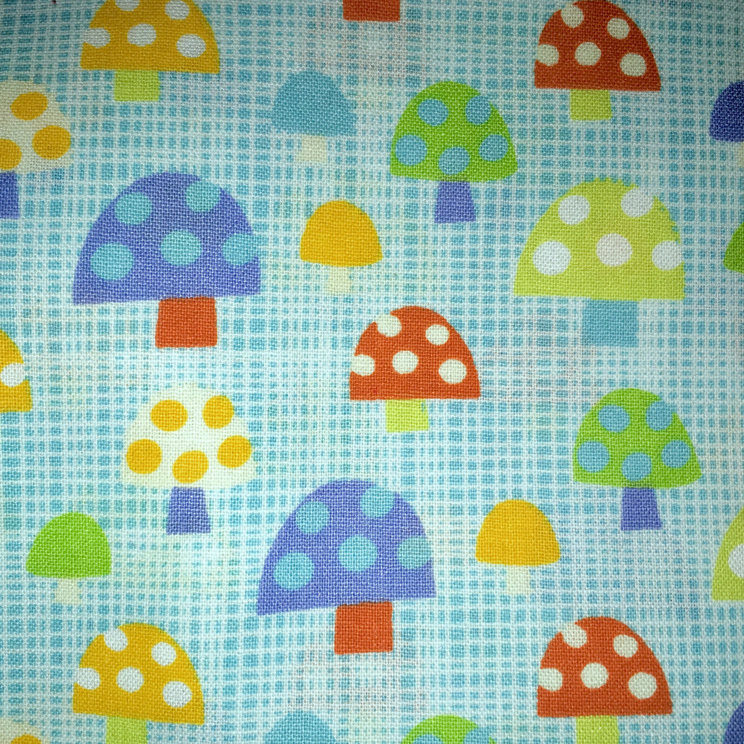 Sleeping Bag - Crosshatch Toadstools