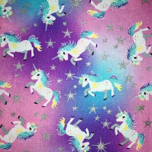 Sleeping Bag - Unicorns (Sparkles)