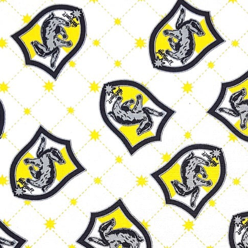 Sleeping Bag - Hufflepuff Shields