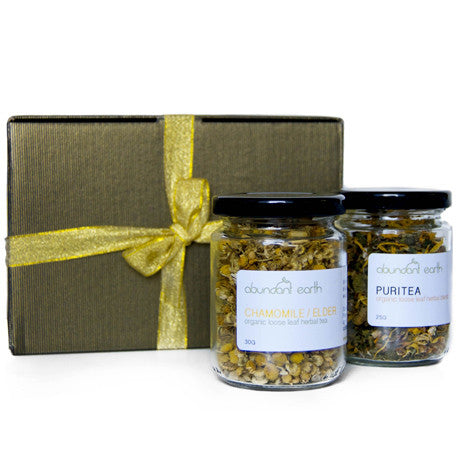 HERBAL TEA DUO 03 - CHAMOMILE/ELDER FLOWER & PURITEA