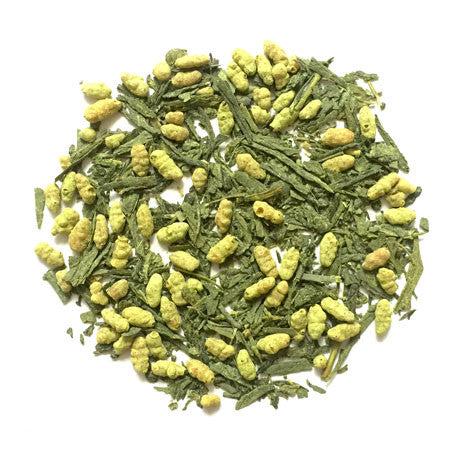 matcha genmaicha green tea