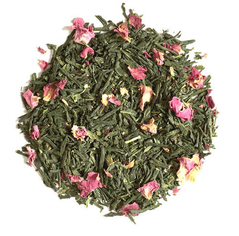 JAPANESE GREEN TEA SENCHA ROSE