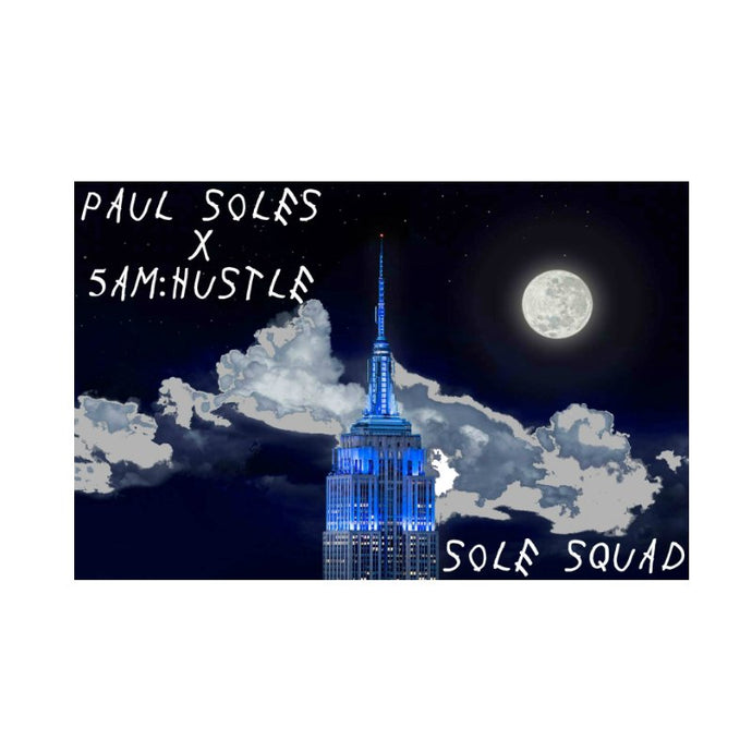 Paul Soles x 5am:Hustle Sticker