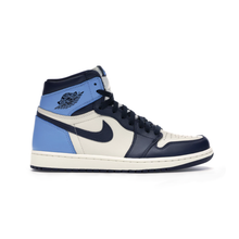 Load image into Gallery viewer, Jordan 1 UNC Obsidian