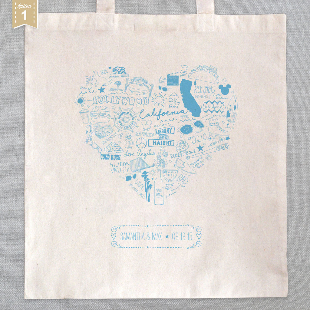 State of My Heart - Tote Bags