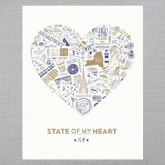 State of My Heart - Art Print - New York