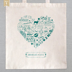 State of My Heart - Tote Bag - Massachusetts