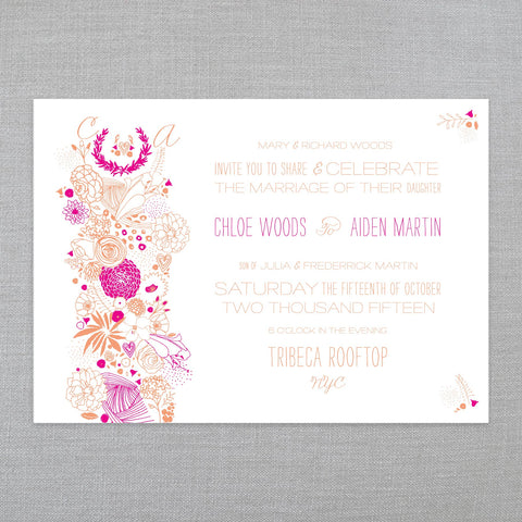 Our Favorite Floral - Invitation