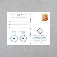Southwest Sweetheart - RSVP Postcard