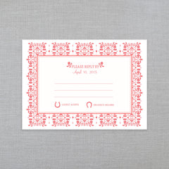 Lucky In Love - RSVP w/Envelope