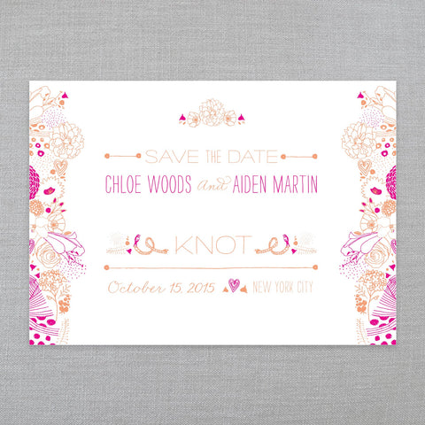 Our Favorite Floral - Save The Date