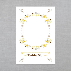 Rustic Romance - Table Number