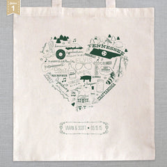 State of My Heart - Tote Bag - Tennessee