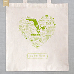 State of My Heart - Tote Bag - Florida