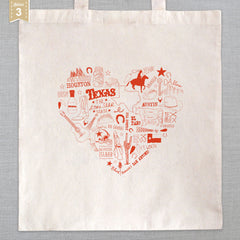 State of My Heart - Tote Bag - Texas
