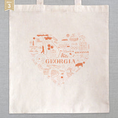 State of My Heart - Tote Bag - Georgia