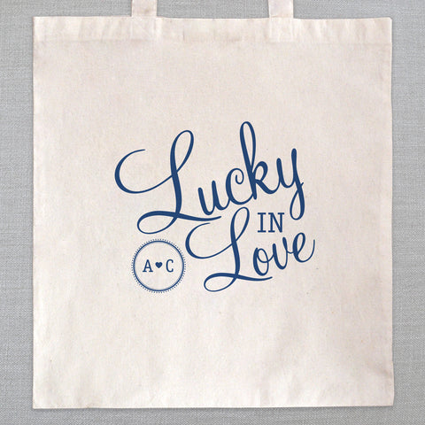Lucky In Love - Tote Bag