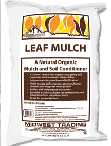 Leaf Mulch - 1.5 cubic ft. bag