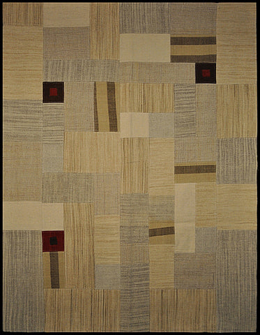 India Patchwork natural 150 x 200