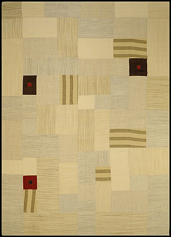 India Patchwork Natural 250 x 350