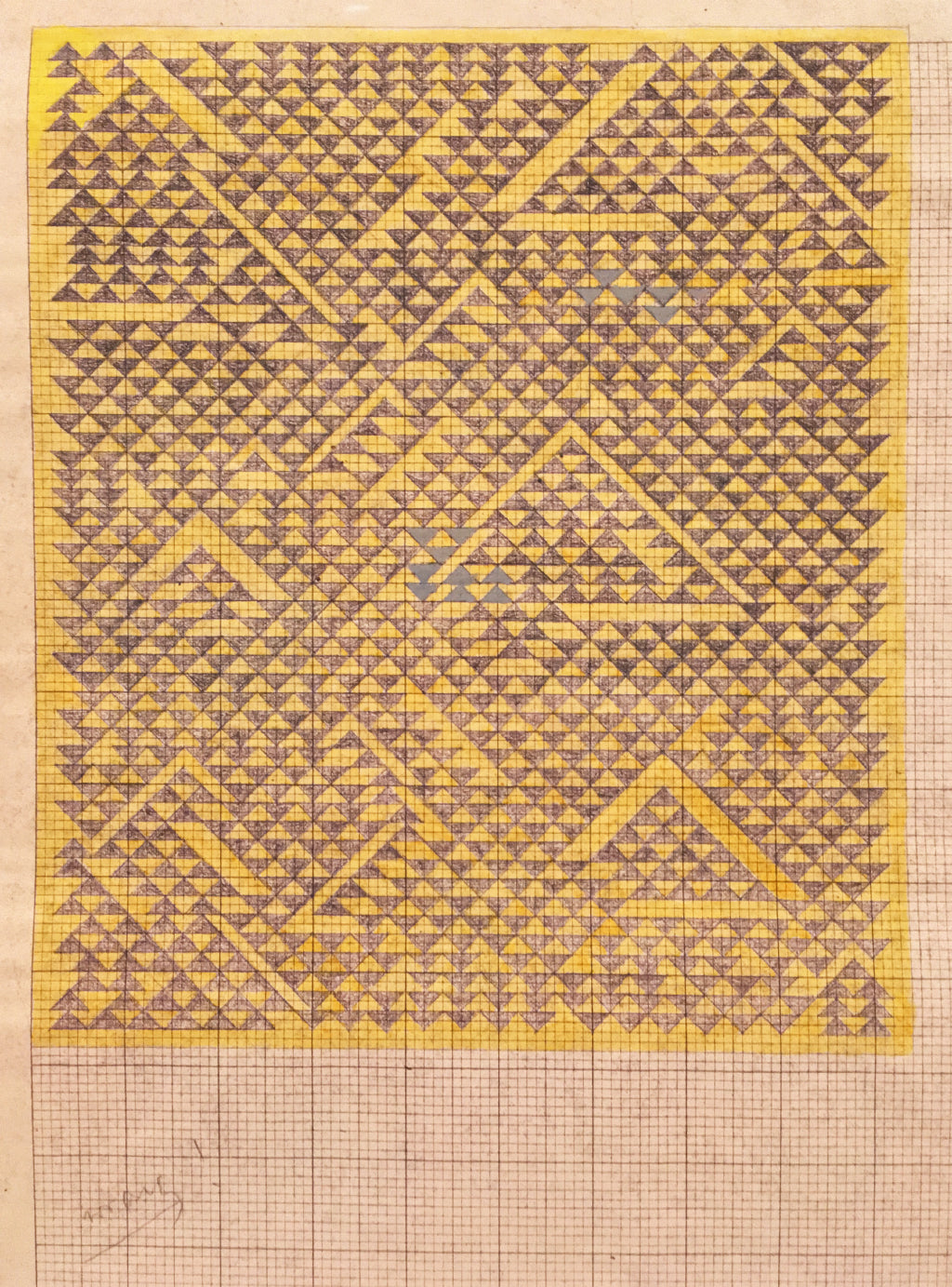 Anni Albers Design Sketch at Tate London