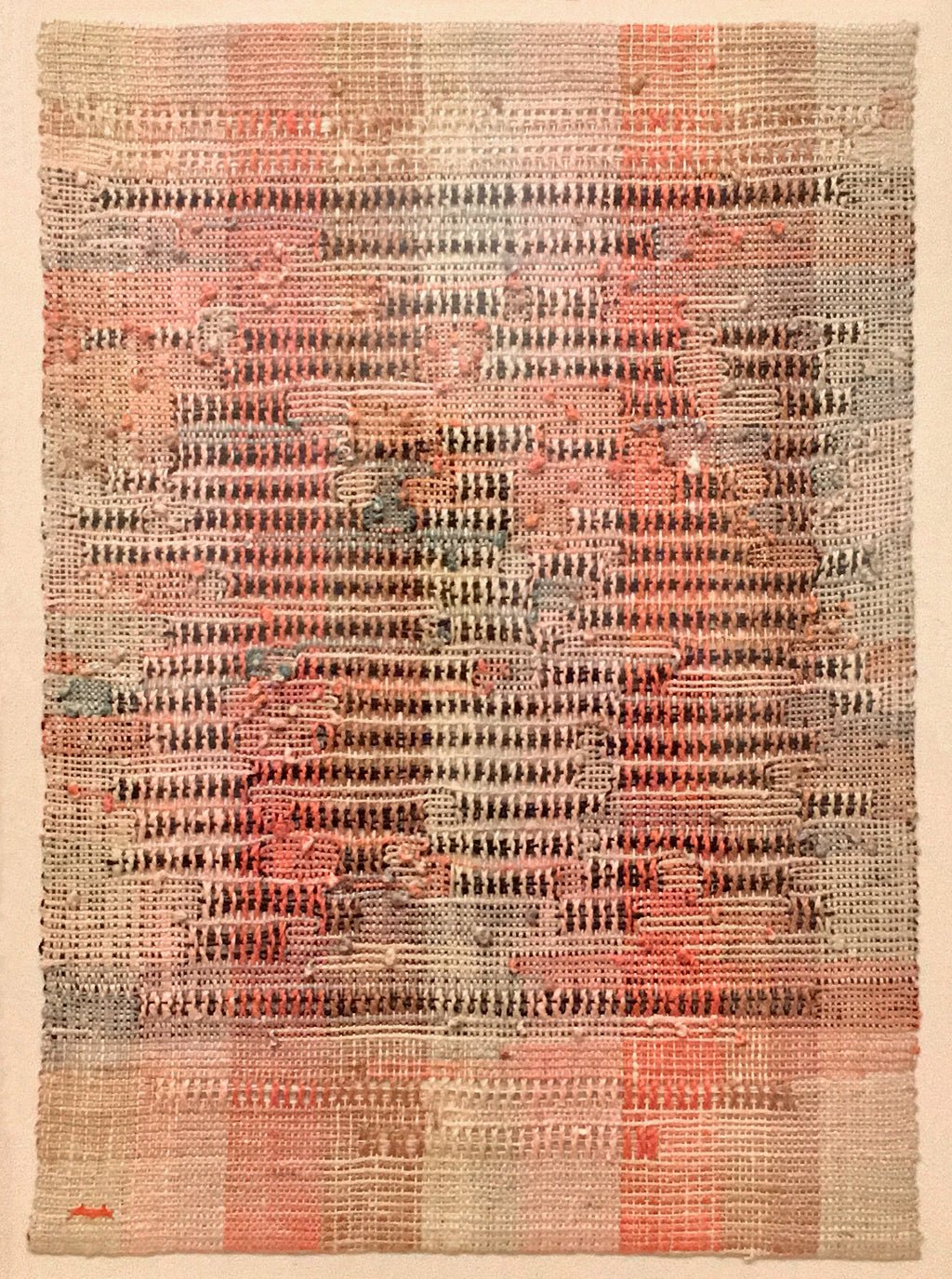 Anni Albers at Tate | Development in Rose II