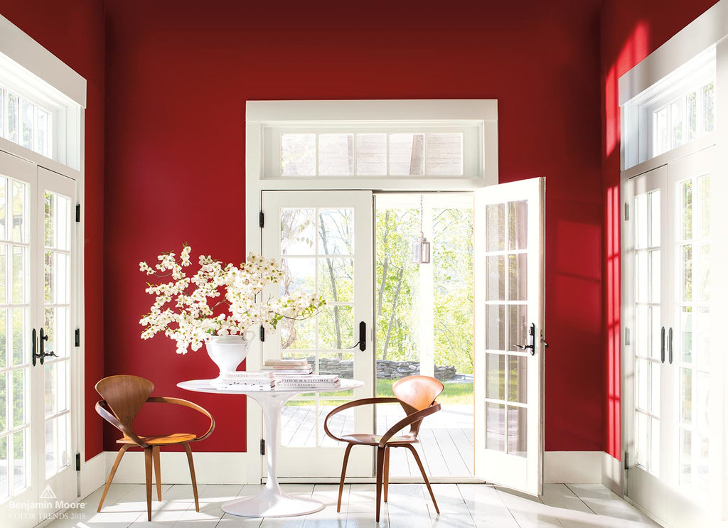 Benjamin Moore Colours 2018 RED