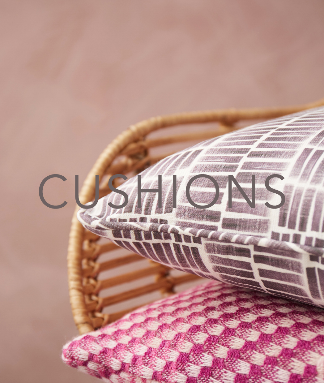 CLAIRE GAUDION designer cushions | contemporary modern home accessories