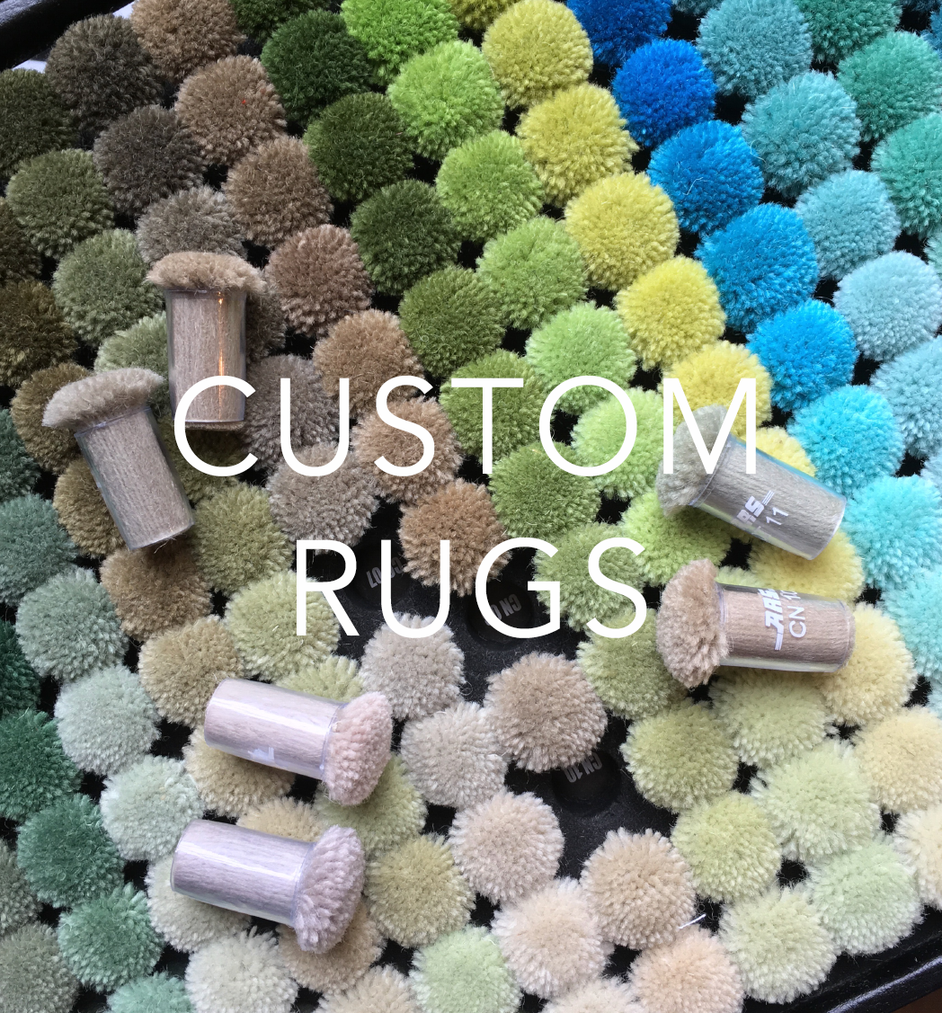 CUSTOM & BESPOKE RUGS BY CLAIRE GAUDION | contemporary modern rugs