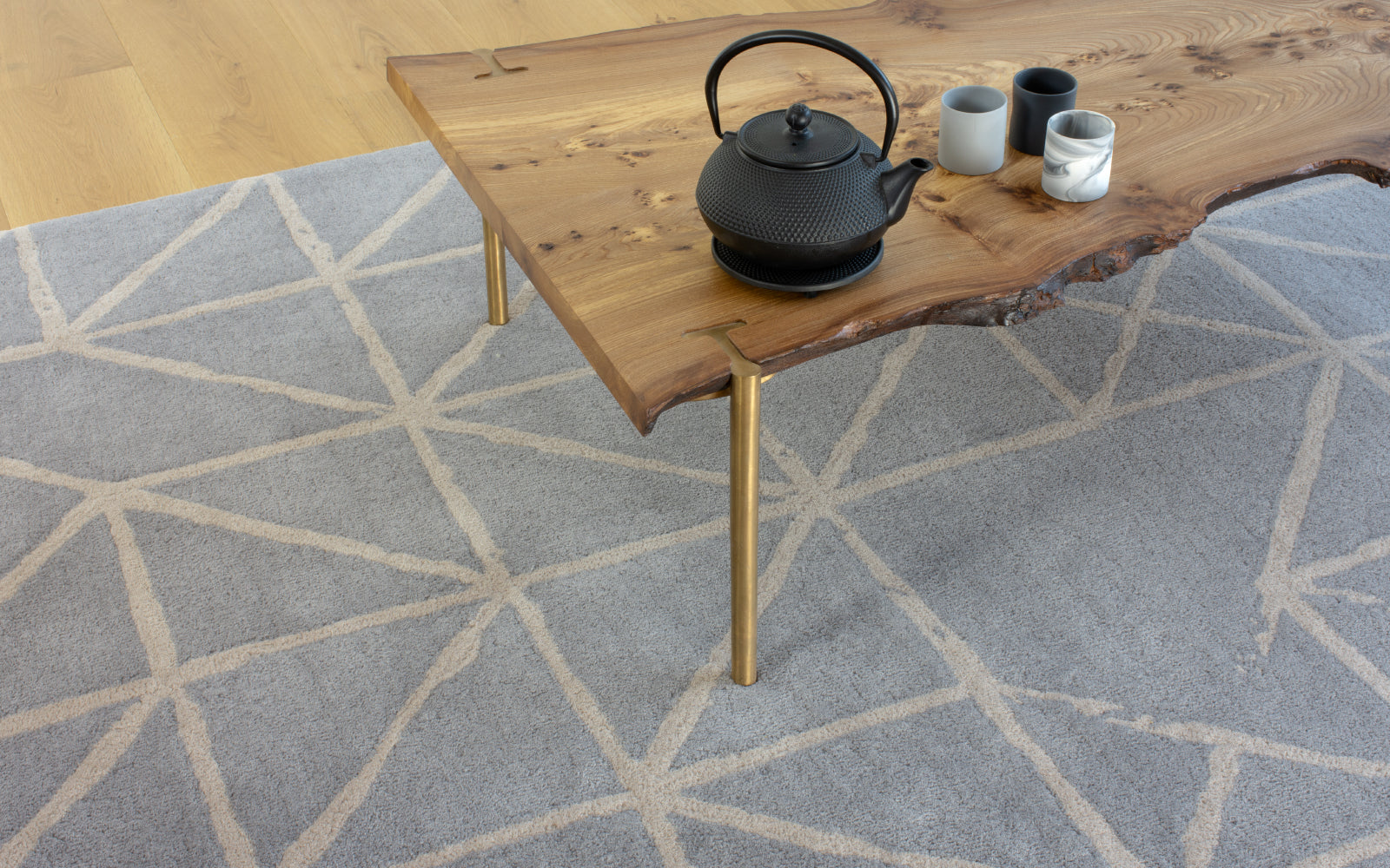 CLAIRE GAUDION Artisan Textile Design inspired by nature | Modern Rugs