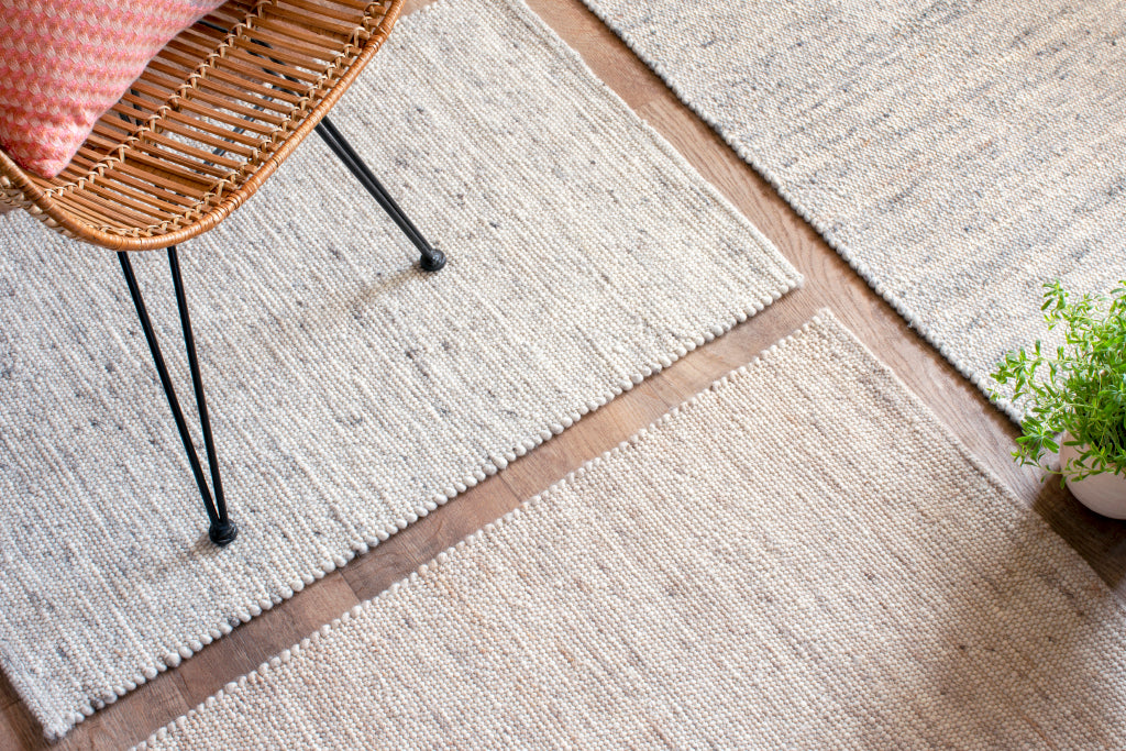 Neutral Flat Weave Rugs | Beach Rug