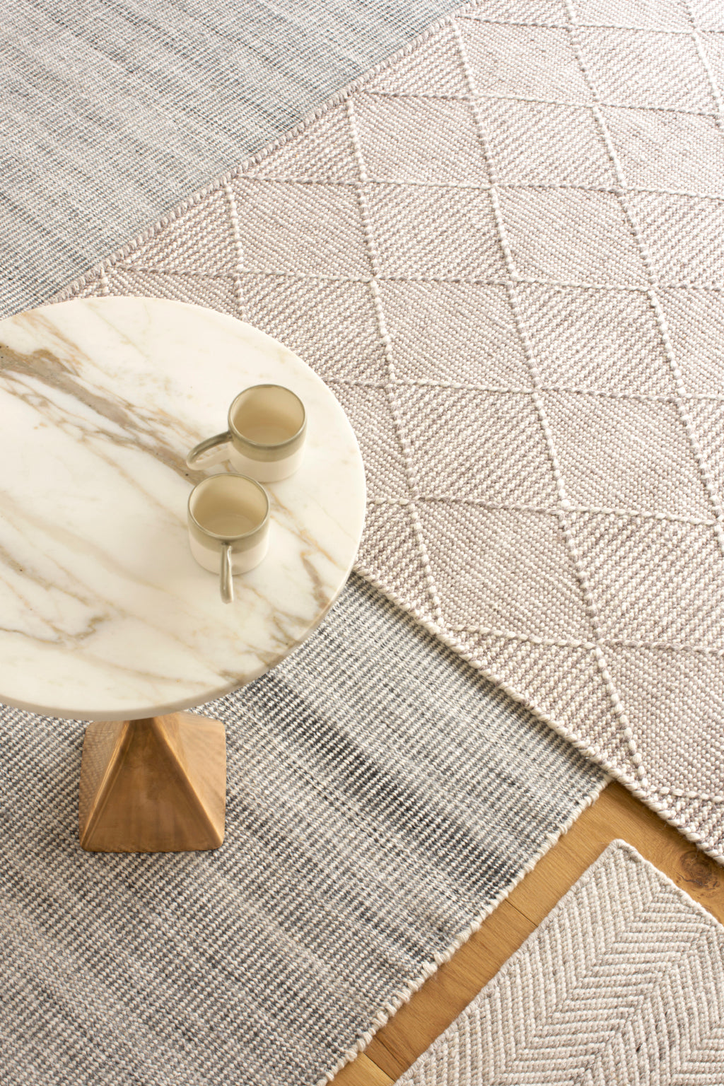 CLAIRE GAUDION Artisan Textile Design inspired by nature | Sustainable Rugs