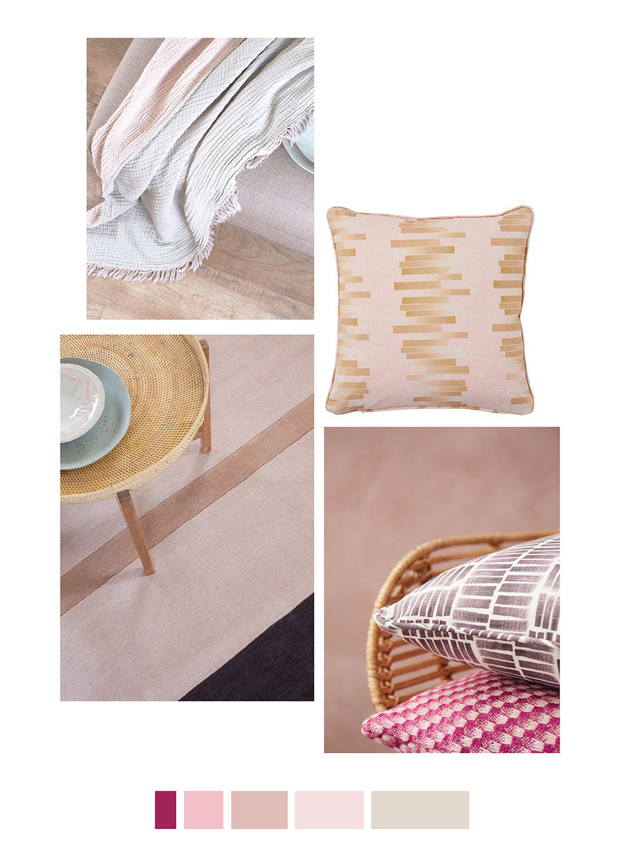 Decorating with pink by Claire Gaudion