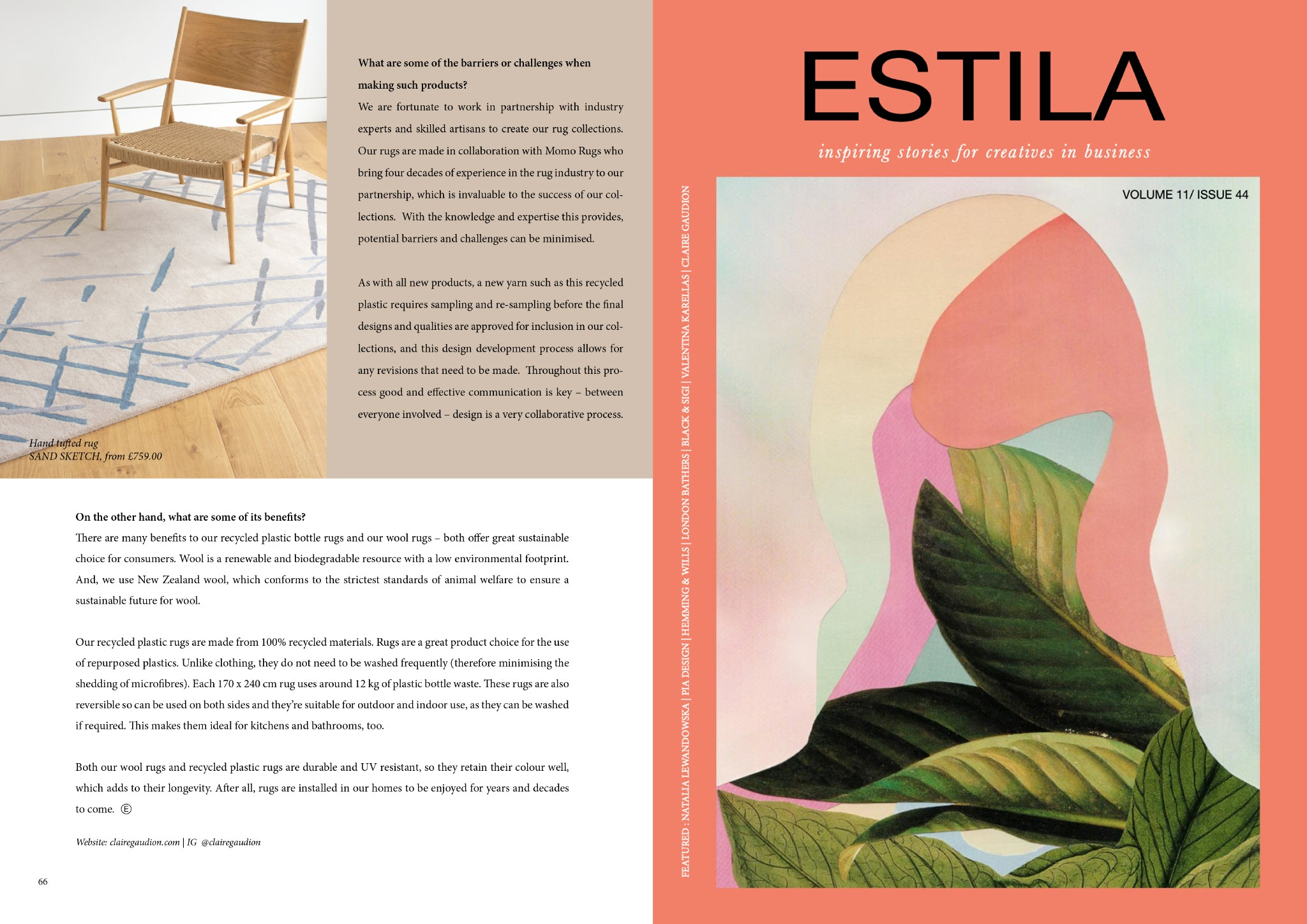 ESTILA Magazine Sustain|Able Volume 11.