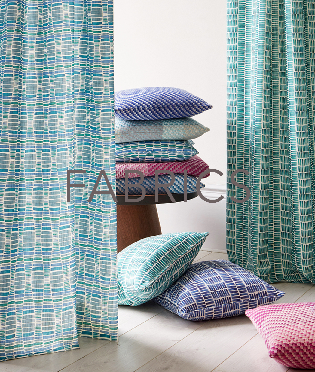 CLAIRE GAUDION interiors fabrics | contemporary textiles for interiors